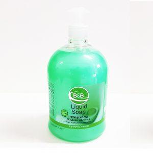סבון נוזלי 1 ליטר בי אנד בי בניחוח תפוח