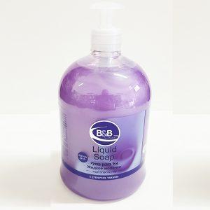 סבון נוזלי 1 ליטר בי אנד בי בניחוח וניל פצ'ולי לבנדר