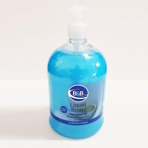 סבון נוזלי 1 ליטר בי אנד בי בניחוח רענן