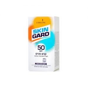 קרם הגנה לפנים סקין גארד לעור בהיר במיוחד 50 SPF