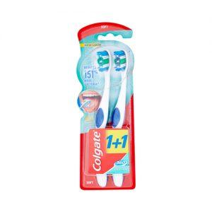 קולגייט מברשת שיניים 360 סופט זוג