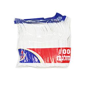 100 מזלגות פלסטיק