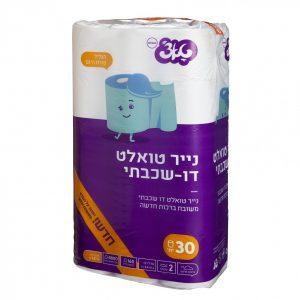 נייר טואלט טאצ' 30 יח'