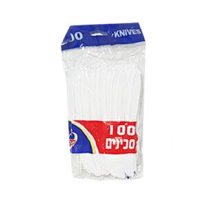 100 סכינים פלסטיק