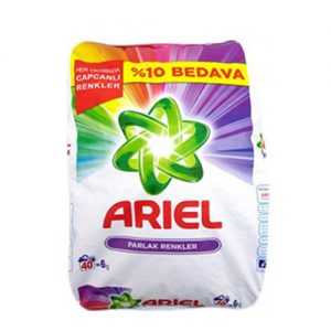 """אריאל אבקה לכביסה צבעונית 6ק""""ג"""