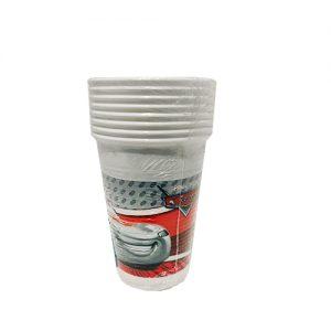 כוסות פלסטיק 8 יח' CARS