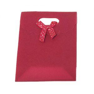 אריזת מתנה איכותית 12X16 עם קישוט סגורה סגול