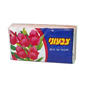 טישו בשקית 100 יח' צבעוני