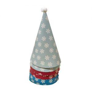כובעים ליום הולדת צבעוני 6 יח'