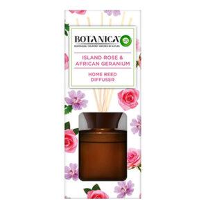 אירוויק בוטניקה מקלות ריח בניחוח ורדים וגרניום