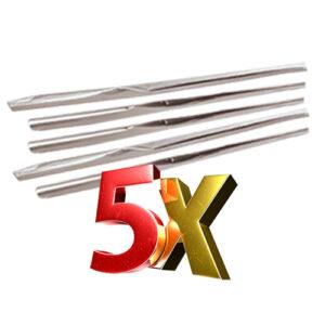 5 יח' נייר צלופן שלישייה לאריזה 1X1 מטר
