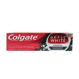 """משחת שיניים קולגייט אופטיק וויט 75 מ""""ל"""