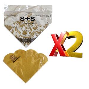 2 יח' מפיות נייר מיוחדות 3 שכבות סוגים שונים
