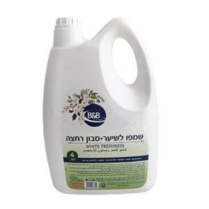 שמפו לשיער + סבון רחצה 4 ליטר בי אנד בי