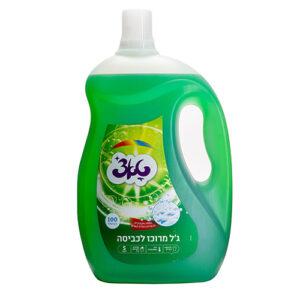 ג'ל כביסה טאצ' 5 ליטר ירוק