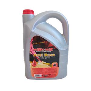 נוזל מגן רדיאטור אדום 4 ליטר