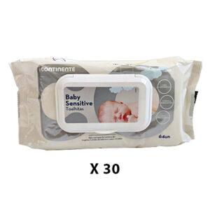 30 יח' מגבונים לתינוק דספנסר 500 גרם 64 יח' ללא בישום עודפי יצוא
