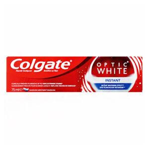 """משחת שיניים קולגייט אופטיק וויט 75 מ""""ל כחול"""