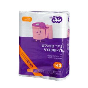 נייר טואלט טאצ' 40 יח'